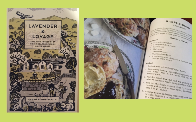 Review – Lavender and Lovage – A Culinary Notebook of Memories & Recipes From Home & Abroad
